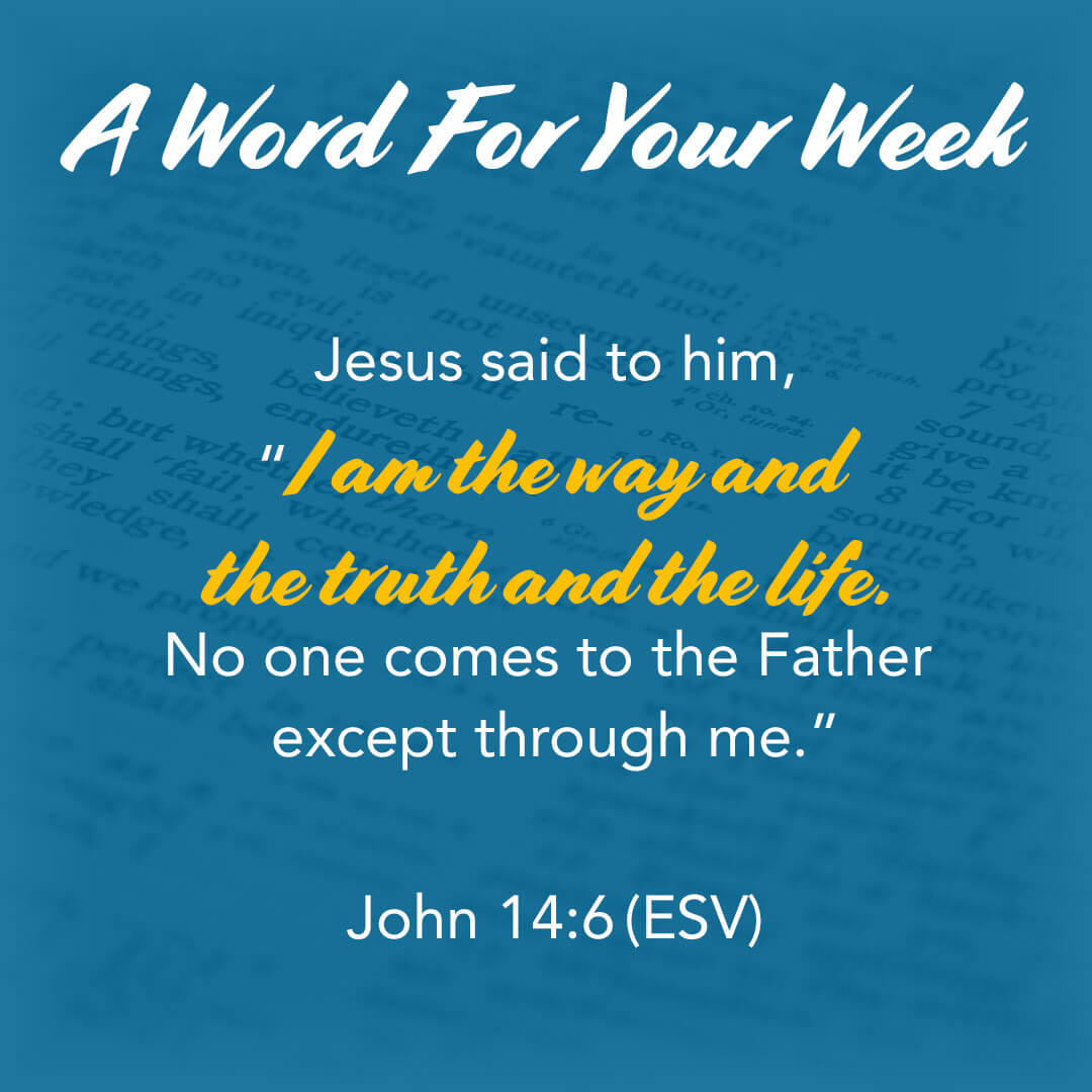 LMI's A Word For Your Week Devotional taken from John 14:16