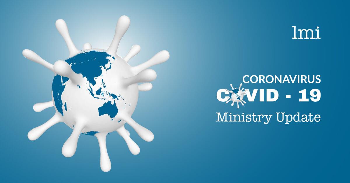LMI Coronavirus Ministry Update