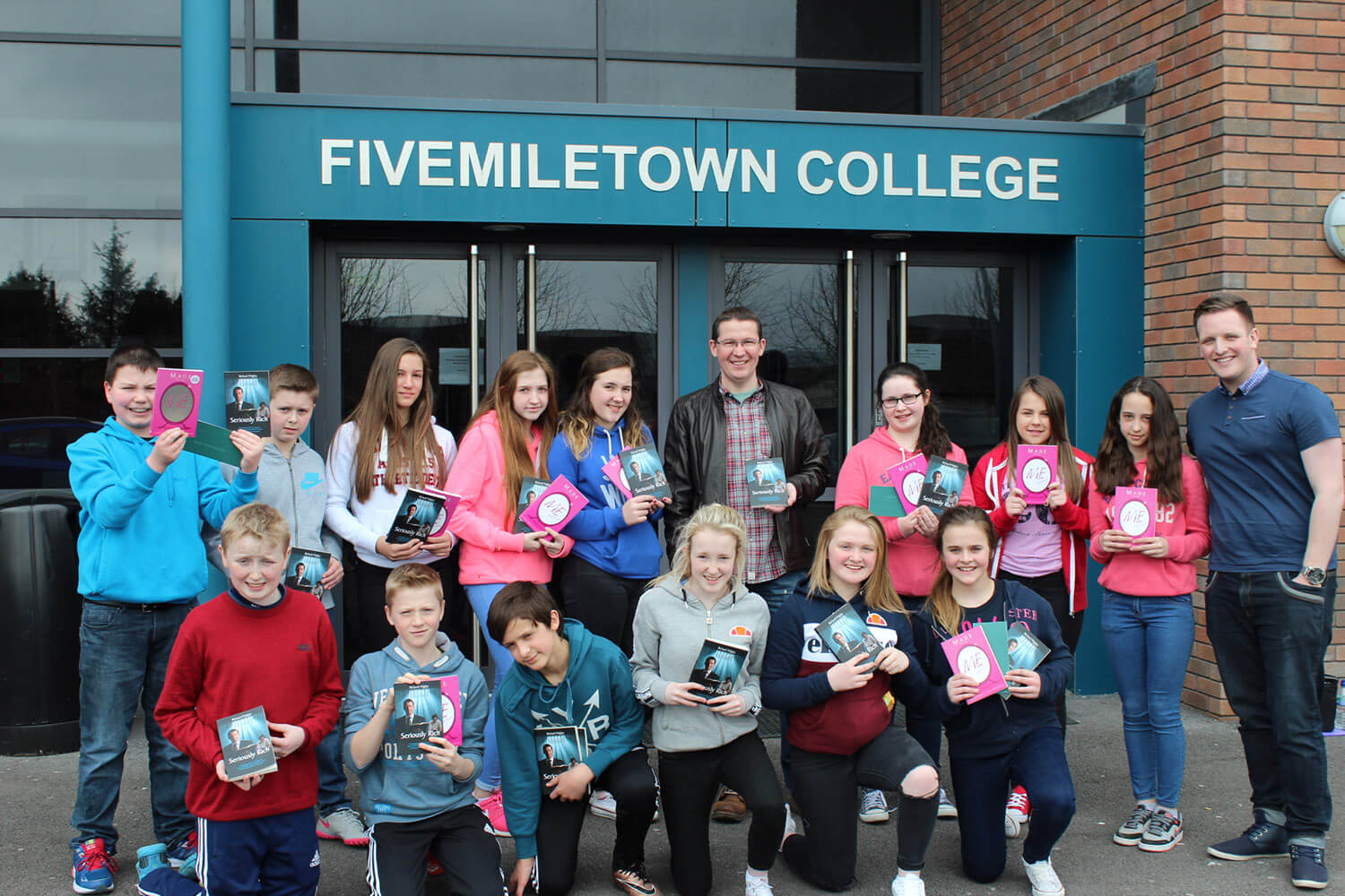 The LMI Youth and Schools Outreach Team at Fivemiletown College.
