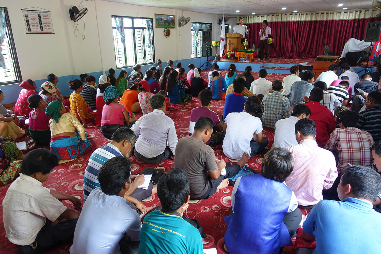 Well attended LMI Leadership Seminar in Nepal