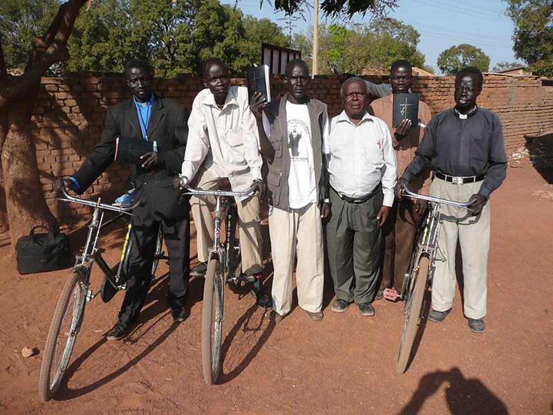 Support the LMI South Sudan Project by financing a bicycle for local Pastors