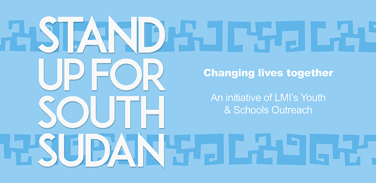 LMI Stand Up For South Sudan Banner