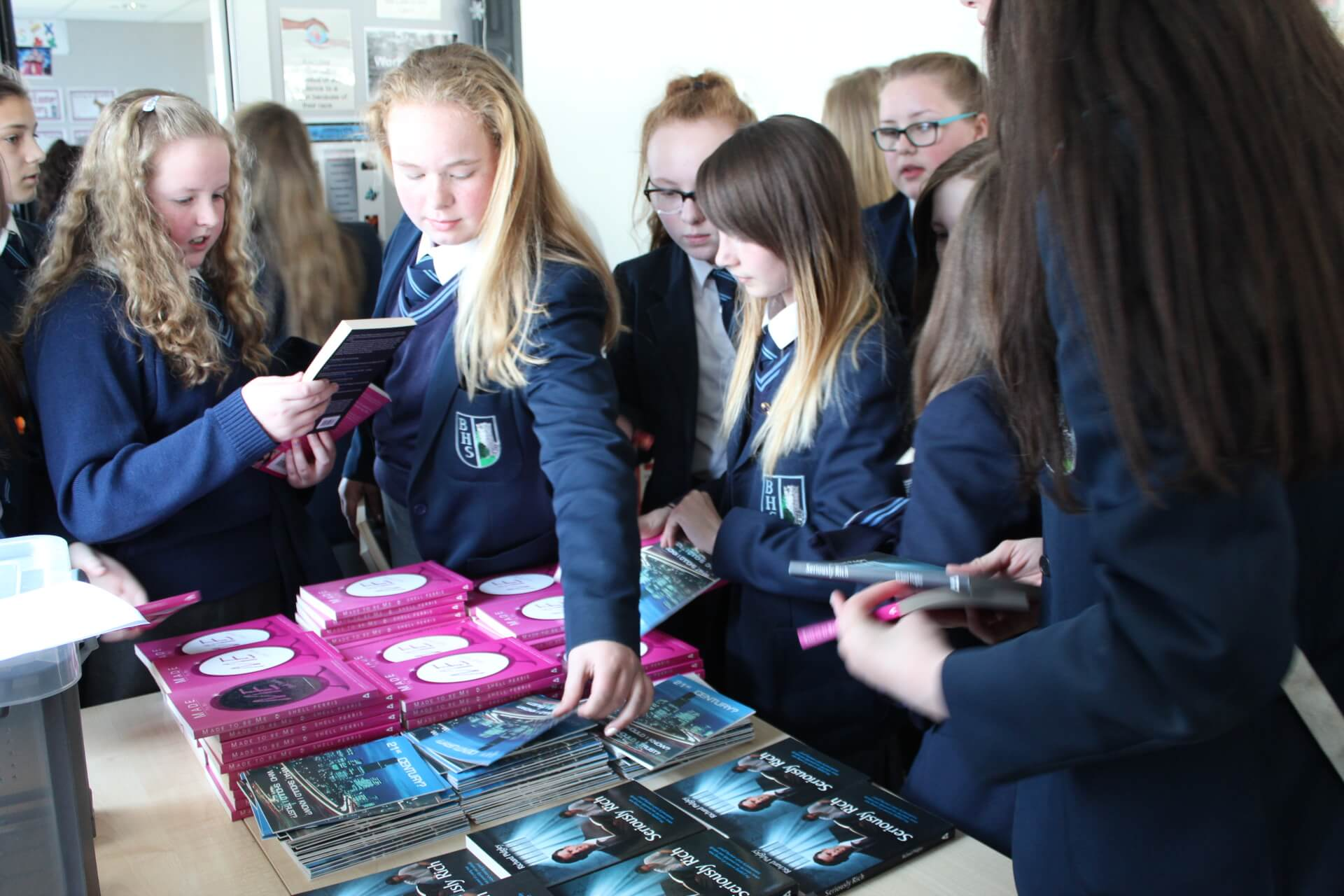 LMI Youth and School Outreach promoting Jesus in schools throughout Northern Ireland and Ireland.
